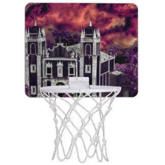 Fantasie-tropisches Stadtbild-Luftaufnahme Mini Basketball Netz