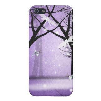 Fantasie-Wald- und Libellen iPhone Fall Hülle Fürs iPhone 5