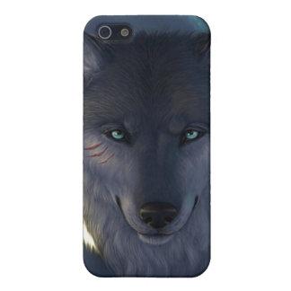 Fantasie-Wolf iPhone 5 Hüllen