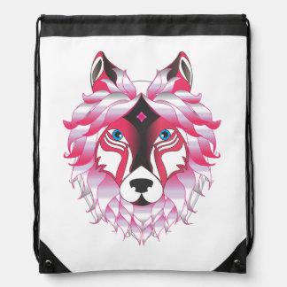 Fantasie-Wolf-Tier Turnbeutel