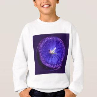 Fantasiekugel im Blau Sweatshirt