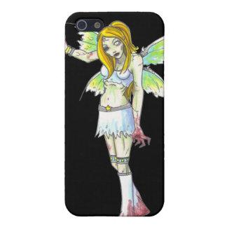 Fantasiekunst iPhone 4 des Zombies feenhafter dunk iPhone 5 Case