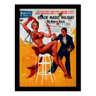 Fantasiereiche Geschichten - Kunst 1955.1_Pulp Postkarte