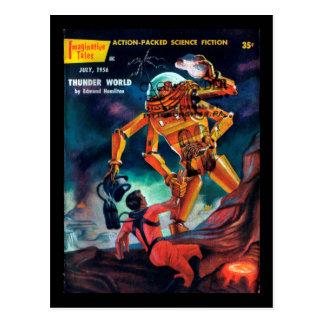 Fantasiereiche Geschichten - Kunst 1956.7_Pulp Postkarten