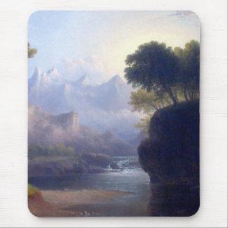 Fantasievolle Landschaft durch Thomas teigig Mauspad