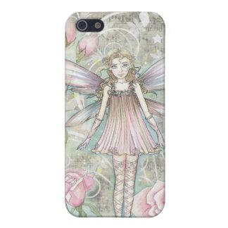 Fantasievolle Rosen-Fee iPhone 5 Hülle