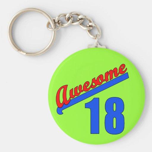Fantastisch bei 18 Jahren alten 18. Geburtstags- Schlüsselanhänger