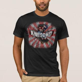 Fantastisch! Kleiderroter Entwurf T-Shirt