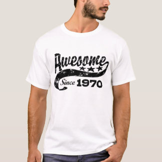 Fantastisch seit 1970 T-Shirt