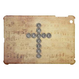 Fantastische Anmut geschriebenes Kreuz auf iPad Mini Hülle