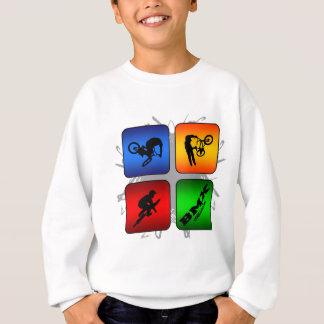 Fantastische BMX städtische Art Sweatshirt