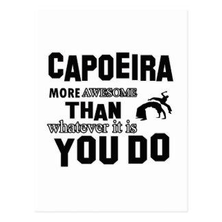 Fantastische Capoeira Entwürfe Postkarte