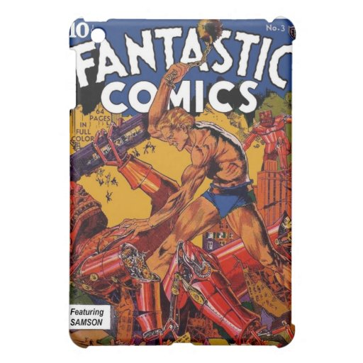 Fantastische Comicen 3 iPad Mini Hülle