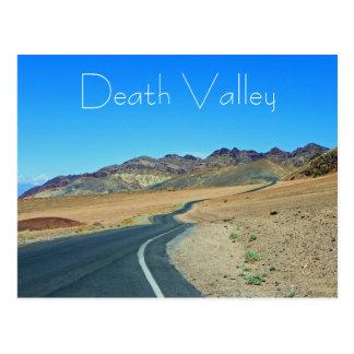 Fantastische Death- Valleypostkarte! Postkarte