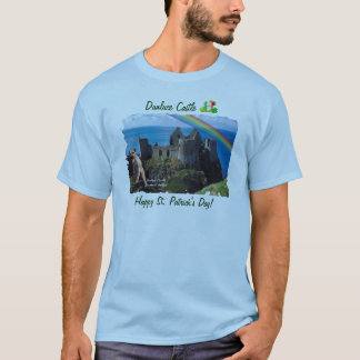 Fantastische Dunluce Schloss-Ansicht Nordirland T-Shirt