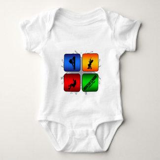 Fantastische Gebirgskletternstädtische Art Baby Strampler