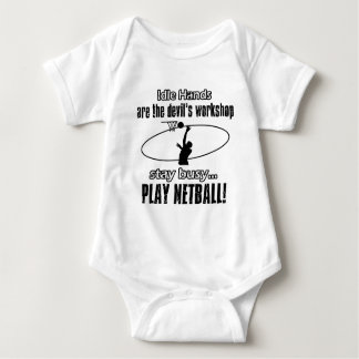 fantastische Geschenkeinzelteile des Netball Baby Strampler