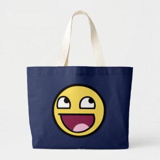 Fantastische Gesichts-Tasche Jumbo Stoffbeutel