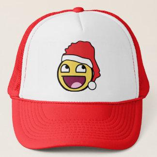 Fantastische Gesichts-Weihnachtsmannmütze Truckerkappe