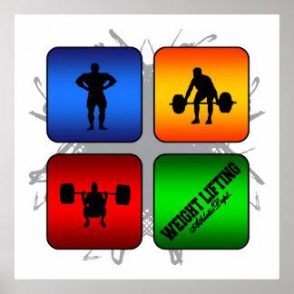 Fantastische Gewichts-Anhebenstädtische Art Poster