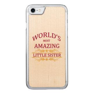 Fantastische kleine Schwester Carved iPhone 8/7 Hülle