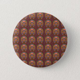 Fantastische künstlerische Muster der Runder Button 5,1 Cm