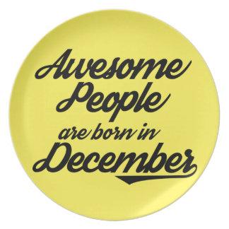 Fantastische Leute sind im Dezember geboren Teller