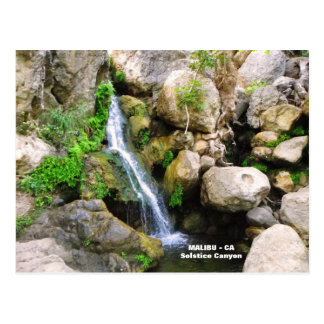 Fantastische Malibu-Postkarte! Postkarte