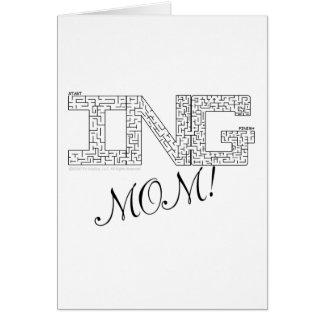 Fantastische Mamma! Karte