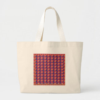 Fantastische Muster-bunte Grafik-Digital-schöne Jumbo Stoffbeutel