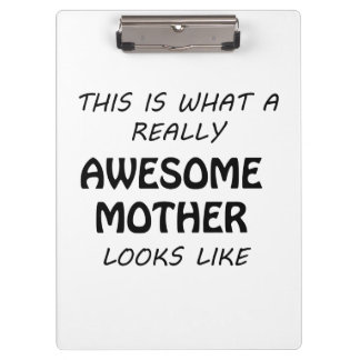 Fantastische Mutter Klemmbrett