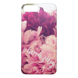 Fantastische Pfingstrose Hashtag Phonecase iPhone 8 Plus/7 Plus Hülle