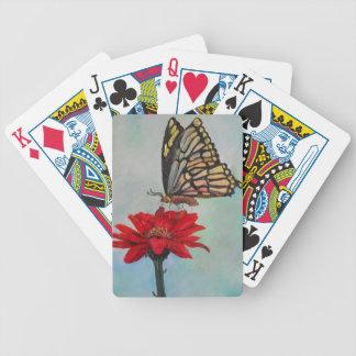 Fantastische Schmetterlings-Kunst! Bicycle Spielkarten