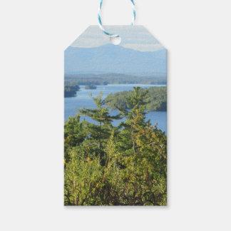Fantastische See winnipesaukee Ansicht Geschenkanhänger