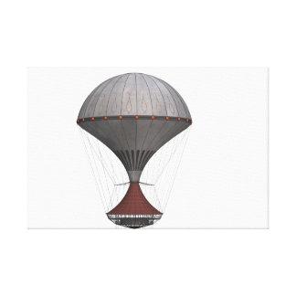 Fantastische steampunk Ballon-vektorentwürfe Leinwanddruck