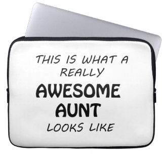 Fantastische Tante Laptop Sleeve