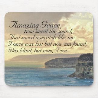 Fantastischer Anmut-Hymnen-Ozean-Sonnenuntergang Mauspad