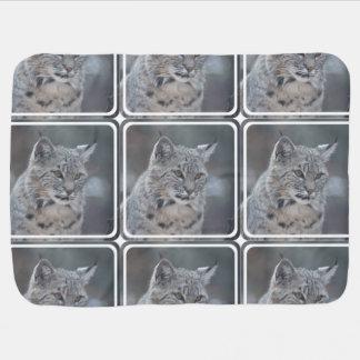 Fantastischer Bobcat Babydecke