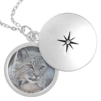 Fantastischer Bobcat Medaillon