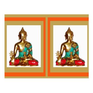 FANTASTISCHER BUDDHA für Ihr ZUHAUSE Postkarten