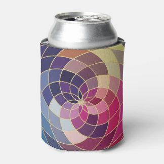 Fantastischer bunter abstrakter Entwurf Dosenkühler