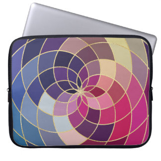Fantastischer bunter abstrakter Entwurf Laptop Sleeve