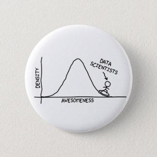 Fantastischer Daten-Wissenschaftler-Knopf Runder Button 5,7 Cm