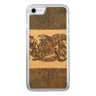 Fantastischer Drache Carved iPhone 8/7 Hülle