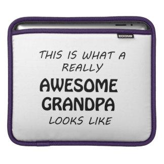 Fantastischer Großvater iPad Sleeve