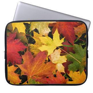 Fantastischer Herbst verlässt Laptop-Hülse Laptopschutzhülle