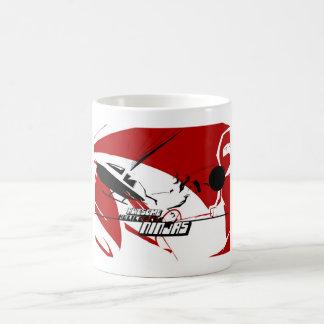 Fantastischer Hubschrauber Ninjas klassische Kaffeetasse