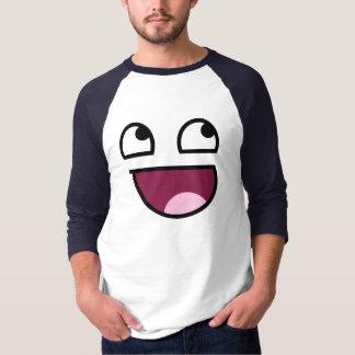 Fantastischer HülseRaglan des Gesichts-3/4 T-Shirt