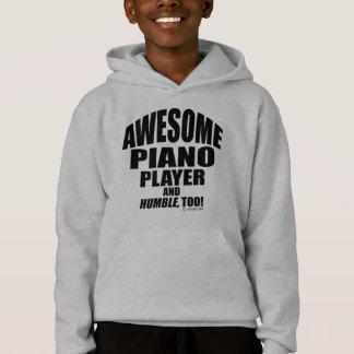Fantastischer Klavier-Spieler Hoodie