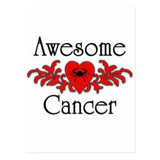 Fantastischer Krebs Postkarte